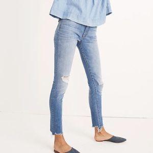 NWT Madewell High Rise Skinny Frankie Wash Jeans